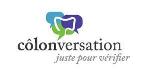 Côlonversation - juste pour vérifier (logo)