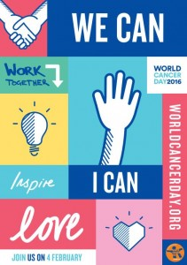 World Cancer Day 2016 poster