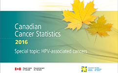 Canadian Cancer Statistics 2016 report