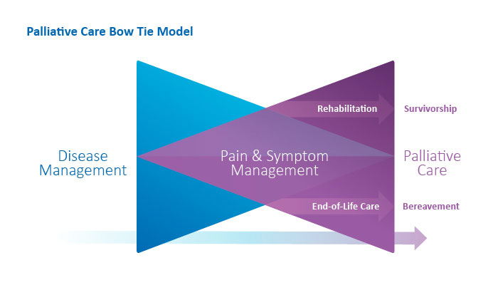 Palliative Care Bow Tie Model