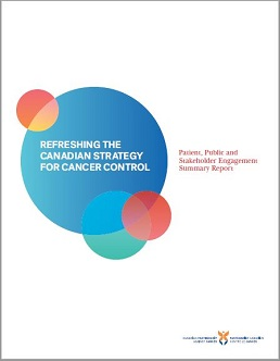 report cover of Patient, public and stakeholder engagement summary