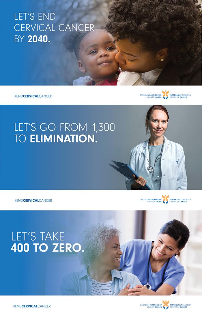3 social media images to end cervical cancer