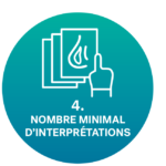 icône nombre minimal d'interprétation