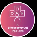 icône interpretation par lots