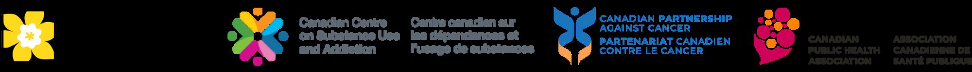logos for CPAC, CCS, CPHA and CCSA